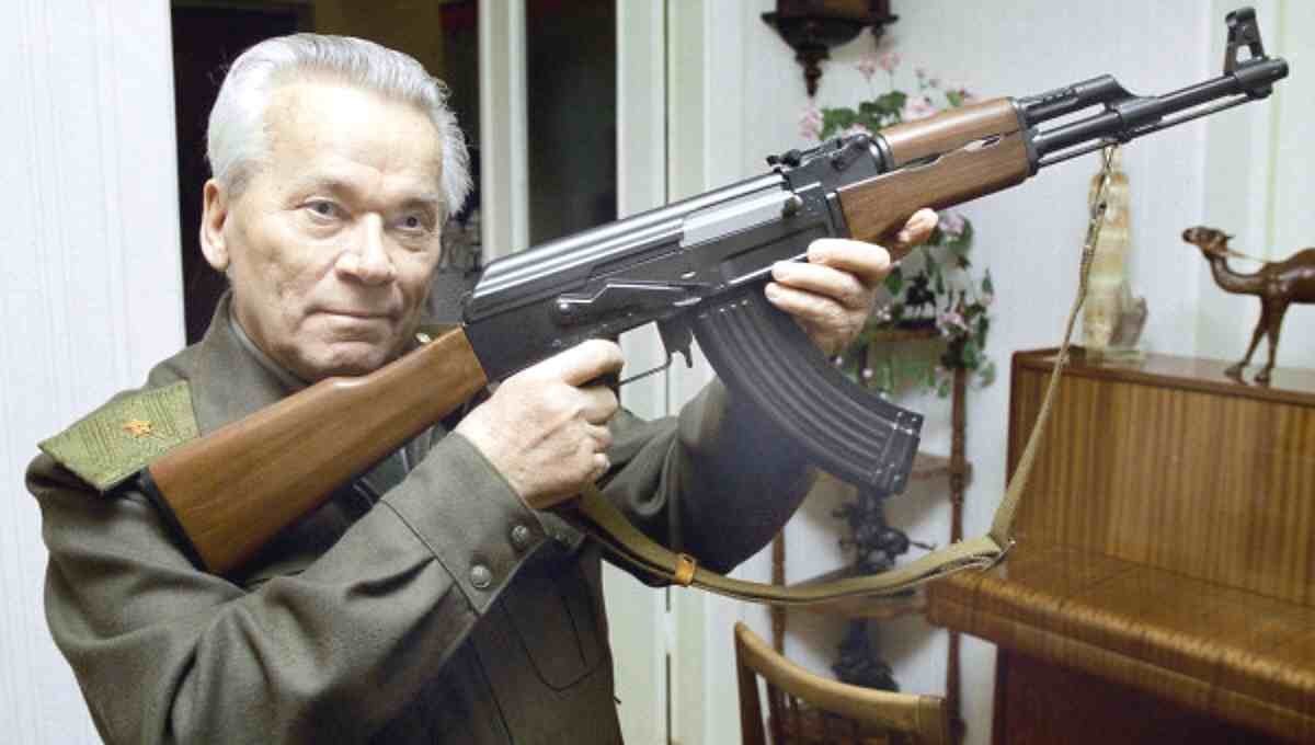 INVENTOR OF AK-47 DIES AT AGE OF 94.  LEFTISTS ATTACK INSTANTLY