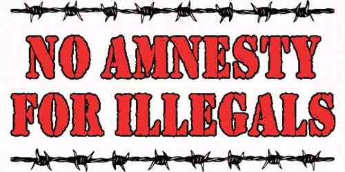 ANOTHER PUSH BY BARACK HUSSEIN OBAMA.  AMERICA PUSHES BACK. NO AMNESTY- AMERICAS FREEDOM FIGHTERS