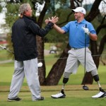 GEORGE W. BUSH: HELPING VETERANS LIFTS HIS SPIRITS!