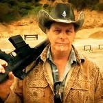 TED NUGENT GIVING AWAY AR-15 RIFLE! HELL YEAH!!!!!