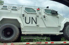 """UN MRAP Vehicles Spotted Moving Across U.S.: """"Peace Keepers and Potential for Civil Unrest"""" [VIDEO]"""