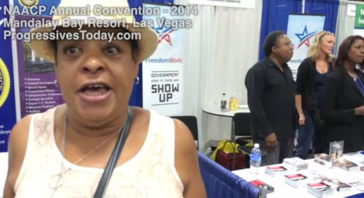 SHOCK VIDEO! BLACK CONSERVATIVES HARASSED BY ANGRY BLACK LIBS!
