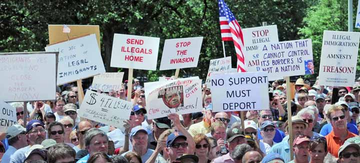 [WATCH] LARGEST ANTI-ILLEGAL IMMIGRATION RALLY IN HISTORY IN LIBERAL MASSACHUSETTS!