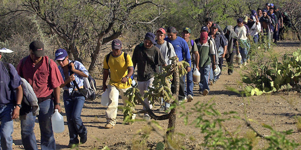 BORDER CRISIS- ILLEGALS ENTERING U.S. FROM ALL OVER THE WORLD!