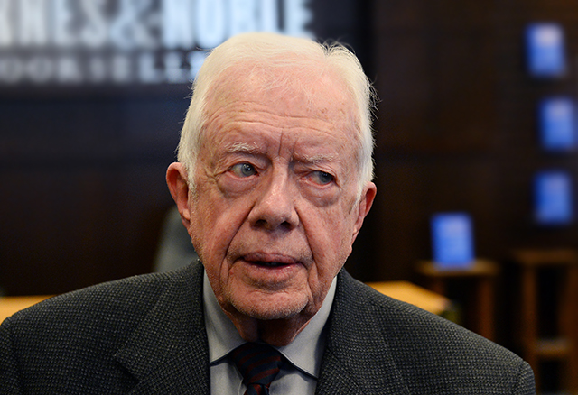 JIMMY CARTER SPEAKS AT MUSLIM CONVENTION!