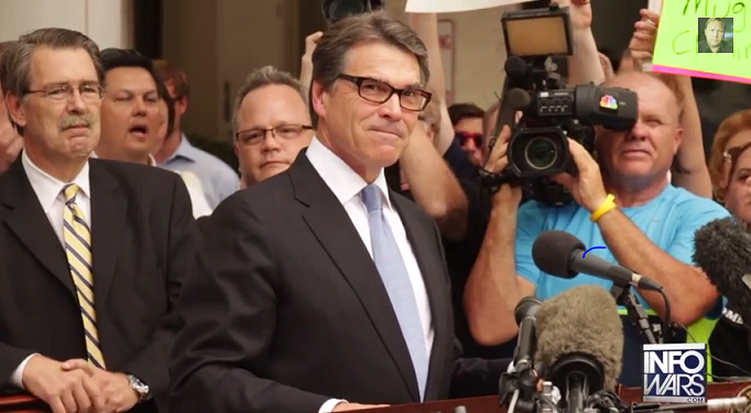 MAJOR DEMOKRAT FAIL! RICK PERRY SET TO CAPITALIZE ON ARREST!