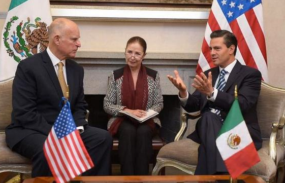 GOV. BROWN TO HONOR MEXICAN PRESIDENT WHILE TAHMOORESSI ROTS IN JAIL!