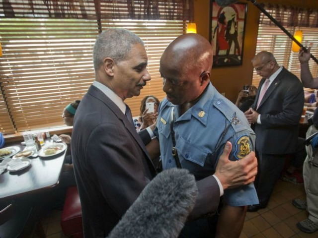 ERIC HOLDER: 'I AM THE ATTORNEY GENERAL… BUT I'M ALSO A BLACK MAN!'