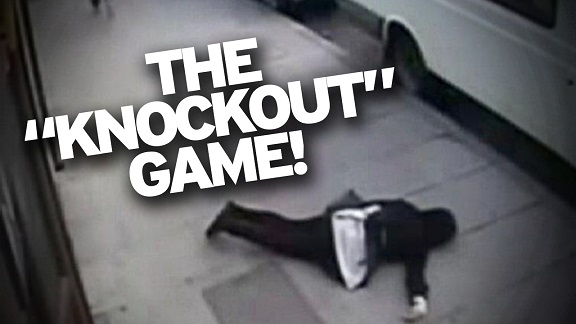 'KNOCKOUT GAME' BLACK ATTACKER ASSAULTS THREE WITHIN 15 MINUTES!