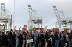 TERRORISM SUPPORTERS BLOCK ISRAELI SHIP FROM DOCKING IN CA!