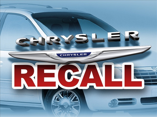 Recall on chrysler vans
