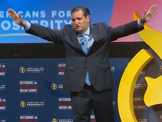 "[WATCH] TED CRUZ ON ISIS- ""WE OUGHT TO BOMB THEM BACK TO THE STONE AGE!"""