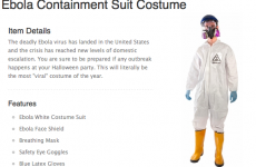 EBOLA HAZMAT, MARIJUANA LEAF AND CIGARETTE HALLOWEEN COSTUMES FOR CHILDREN?