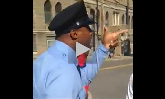 """VIDEO: COP THREATENS TO """"BEAT THE SH*T"""" OUT OF TEEN FOR LOOKING AT HIM!"""