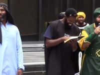 """[VIDEO]- BLACK SUPREMACY RALLY-""""ALL WHITE PEOPLE WILL BE SLAVES!"""""""
