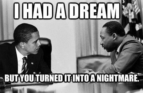 BLACK LEADERS PRAISE OBAMA EXEC AMNESTY THAT WILL HURT BLACK WORKERS!