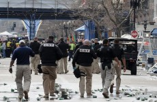 The photo below from Boston after the bombing; are these some of the same guys seen in the 1st video above in Ferguson, Missouri?