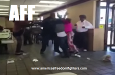 [WATCH] LMAO! BRAWL AT McDONALD'S OVER EGG McMUFFINS!
