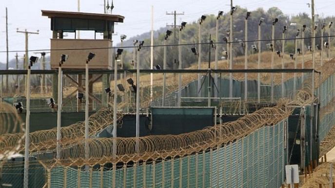 Mar. 6, 2013: The exterior of Camp Delta is seen at the U.S. Naval Base at Guantanamo Bay. (Reuters)