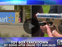 UNBELIEVABLE! NEW YORK IS BANNING TOY GUNS FOR CHRISTMAS! (VIDEO)