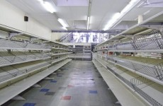 [WATCH!] SHOPPERS RANSACK GROCERY STORES AHEAD OF MONSTER BLIZZARD!