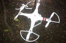 Shown here is a picture of the drone that crashed on the White House grounds in the early morning hours on Jan. 26. (Secret Service)