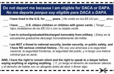 """HOUSE DEM WANTS ILLEGAL ALIENS TO CARRY A """"PLEASE DO NOT DEPORT ME CARD!"""""""