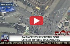 BREAKING! BALTIMORE IS A FULL BLOWN WAR ZONE… IT'S TOTALLY OUT OF CONTROL