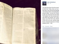 Lady Antebellum Tour Bus Catches On Fire And Everything Burns… EXCEPT For Their Bible