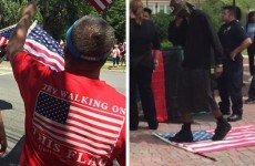 When Anti America LIBS Stomped On Our Flag These PATRIOTS Took ACTION (Video)