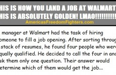 HILARIOUS! THIS Is How To Get A Job At WalMart…