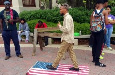 FUGITIVE ERIC SHEPPARD, The Radical Islamist That Stomped On American Flag ARRESTED! (Video)
