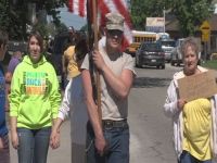 Veterans, Parents And Students In An Uproar When LIBERAL Teacher Stomps On American Flag! (VIDEO)