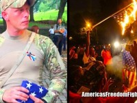 HELL YEAH! Vets, Patriots, And Bikers Show Up And Shut Down Flag-Burning Rally… (Video)