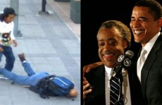 SHOCKING VIDEO: Wild Black THUG Savagely Attacks White Navy Veteran… Obama, Sharpton Silent