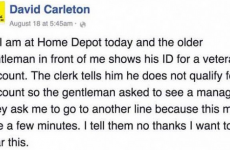 Home Depot Just INSULTED This Veteran… What Happened NEXT Has Gone VIRAL! SPREAD THIS