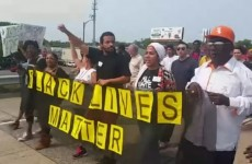 Watch What #BlackLivesMatter Racists Choose To Chant — During March With Police Escort