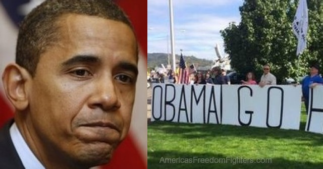 BOOM: THOUSANDS Of Angry Oregon PATRIOTS Destroy Obama's Visit… He NEVER Expected This (VIDEO)