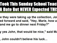 He Took This Sunday School Teacher On A Date But NEVER Expected THIS To Happen. This Is PRICELESS…