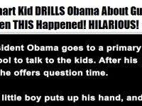 Boy Asks Obama About GUNS, Then The Unexpected Happens… PRICELESS