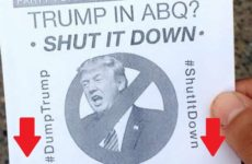 Here's The 1 Detail On Anti-Trump Signs That Exposes Who's Behind The Albuquerque Riots