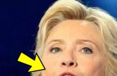 Did You Spot Bizarre Object In Hillary's Mouth During Acceptance Speech? We Did, Check This Out…