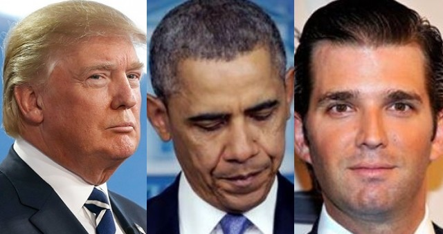 BREAKING: Trump FURIOUS After Obama Does THIS To His Son…
