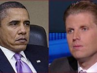Eric Trump Has BRUTAL Message For Obama After His Unhinged Rant About His Father