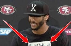 Colin Kaepernick Wears THIS T-Shirt At Press Conference, Internet Instantly EXPLODES…