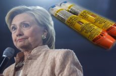 Hillary Slams Pharmaceutical Company for Gouging Price of EpiPens, But Hides 1 Major Detail…