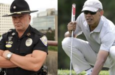 Louisiana's Toughest Cop DESTROYS Obama for Playing Golf While His State Floods