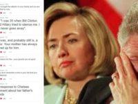 BREAKING: Clinton RAPE VICTIM Goes BALLISTIC On Twitter, Destroys Slick Willie… Hillary Camp PANICS