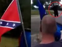 BLM Thug Tries To Remove Veteran's Flag From His Truck, Gets 'DEADLY' Surprise Instead [VIDEO]