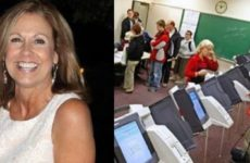 ALERT: Texas Voter STUNNED At What She Finds INSIDE Electronic Voting Machine